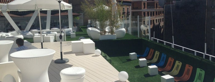 Terraza Gymage is one of madrid. Beber y comer.