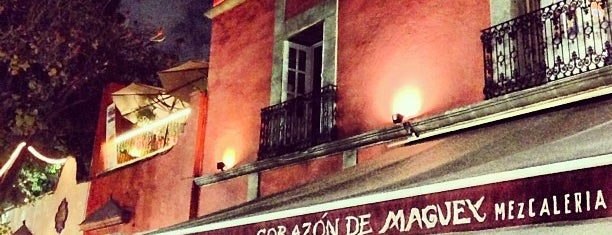 Corazón de Maguey is one of Approved Pubs.
