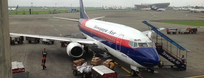 Gate B7 is one of Soekarno Hatta International Airport (CGK).
