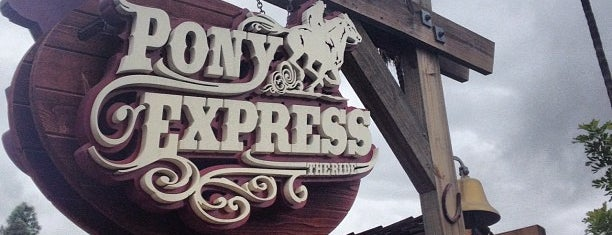 Pony Express is one of Coaster Credits.