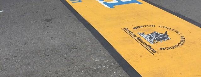 Boston Marathon Finish Line is one of Six Pack Hot Spots.