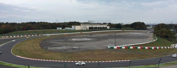 鈴鹿サーキット スプーンカーブ is one of 鈴鹿サーキット 国際レーシングコース.