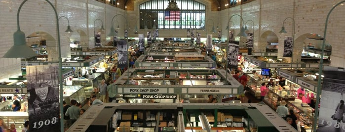 West Side Market is one of 40 Top-Rated Food Halls in the U.S..