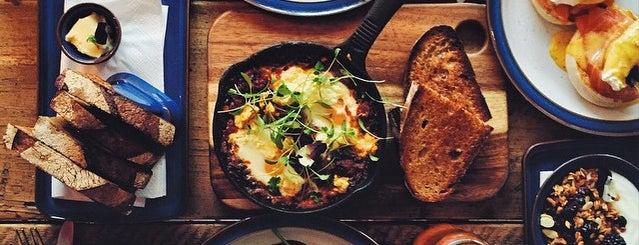 Wildflower Cafe is one of London Breakfast.