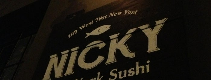 Nicky New York Sushi is one of Resto noche.