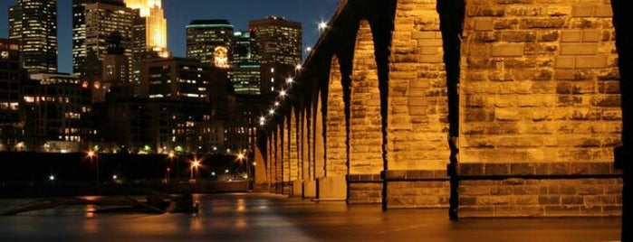 Stone Arch Bridge is one of MN.
