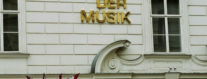 Haus der Musik is one of Exploring Vienna (Wien).