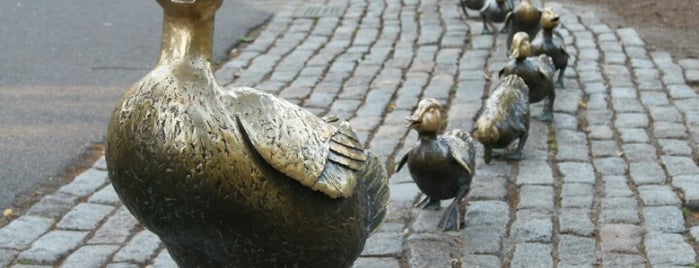 Make Way For Ducklings is one of Boston.