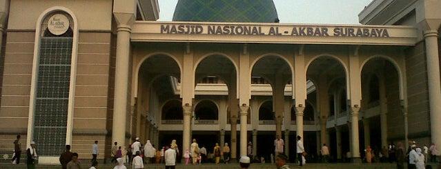 Masjid Nasional Al-Akbar is one of Jalan2 Kota SURABAYA.