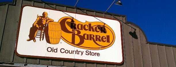 Cracker Barrel Old Country Store is one of Favorite Food.
