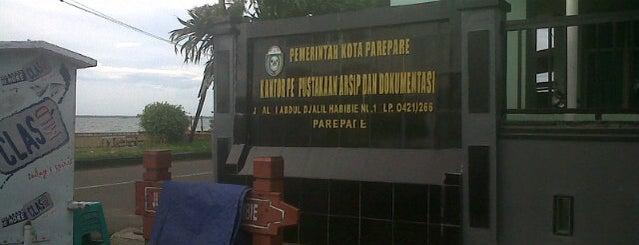 Kantor Perpustakaan, Arsip dan Dokumentasi Kota Parepare is one of SKPD di Parepare.