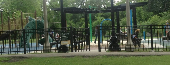 Rutherford Sayre Park is one of Community Gardens in the Parks!.