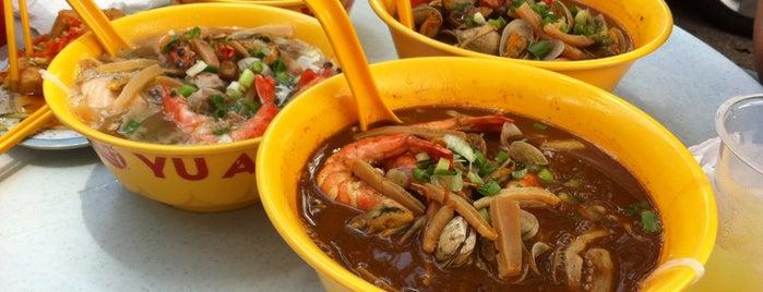 Restoran Yu Ai (友爱海鲜粉) is one of Yeh's Fav Food!! ^o^.