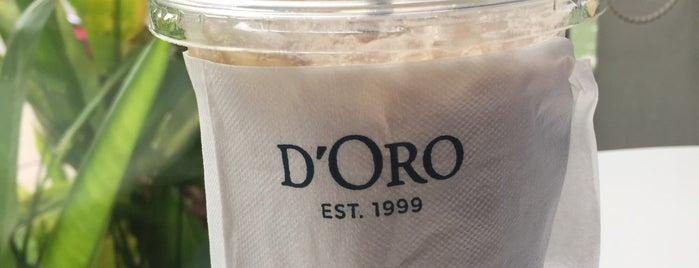 D' Oro is one of Favorite Food.