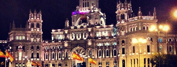 Plaza de Cibeles is one of Dieter's favourite spots in Madrid.