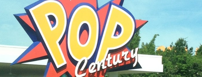 Disney's Pop Century Resort is one of Favorite Places in Florida.