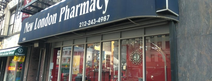 New London Pharmacy is one of Best NYC Beauty Shopping.