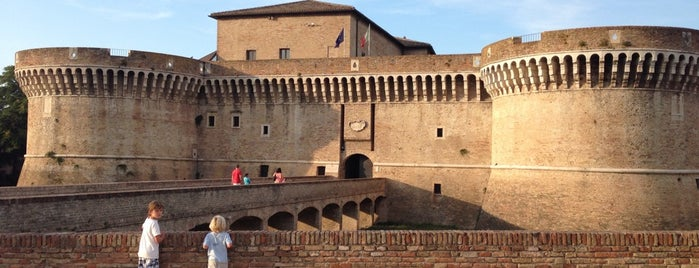 Rocca Roveresca is one of Senigallia.