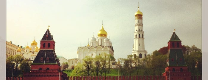 The Kremlin is one of UNESCO World Heritage Sites.