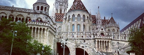 Buda Castle is one of Budapest.