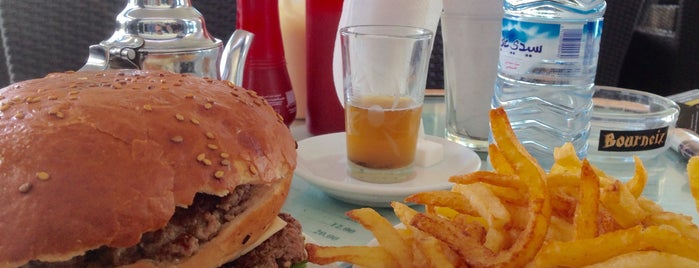 Mikey's Burger is one of Agadir's best spots.