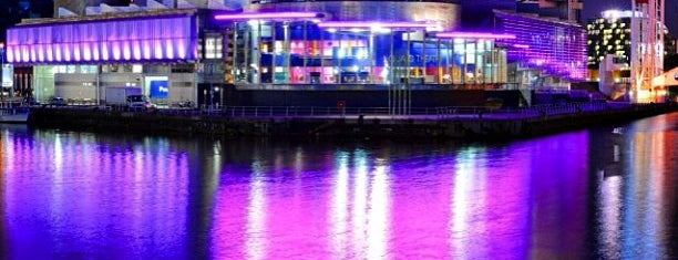 Salford Quays is one of Ziggy goes to Manchester.