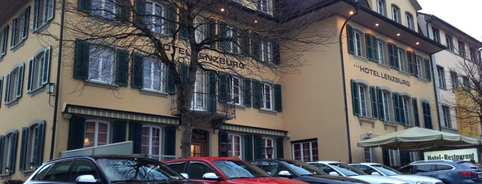 Hotel Lenzburg is one of AargauHotels.ch.