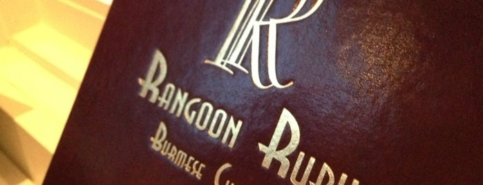 Rangoon Ruby is one of South Bay.