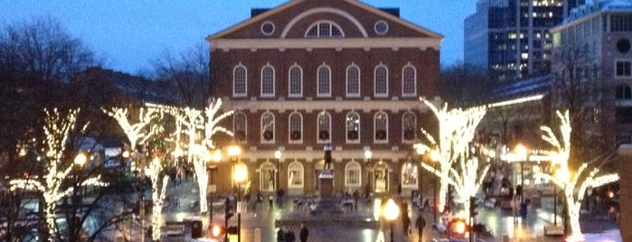 Faneuil Hall Marketplace is one of BUcket List.