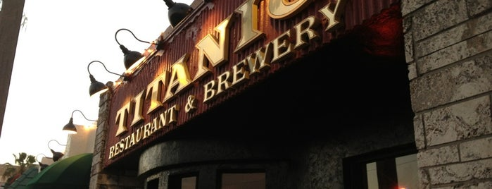 Titanic Restaurant & Brewery is one of Lukas' South FL Food List!.