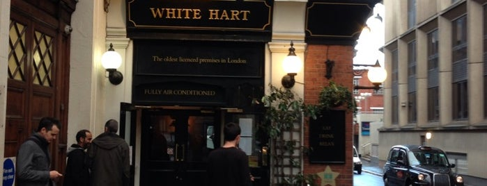 The White Hart is one of Around The World: London.
