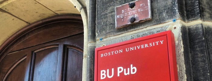 BU Pub is one of Boston.