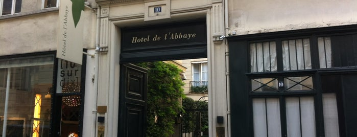 Hotel de l'Abbaye is one of Dis-moi 님이 저장한 장소.