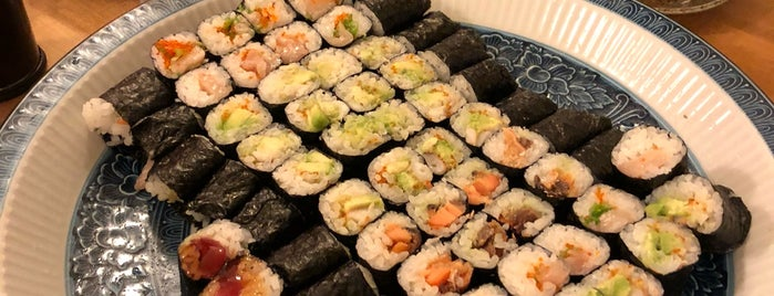 Okina Sushi is one of SF: To Eat.