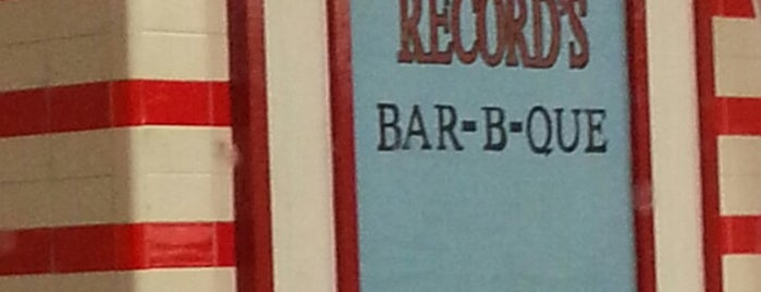 Record's Bar B-Q is one of Delicious in Dallas.