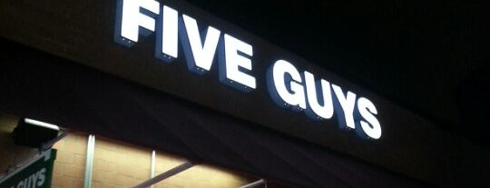 Five Guys is one of North Central College.