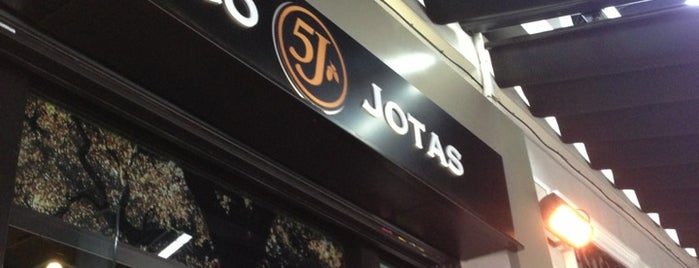 Mesón Cinco Jotas is one of Madrid.