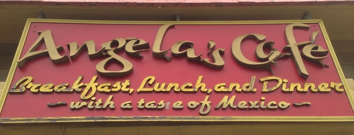 Angela's Café is one of Boston.