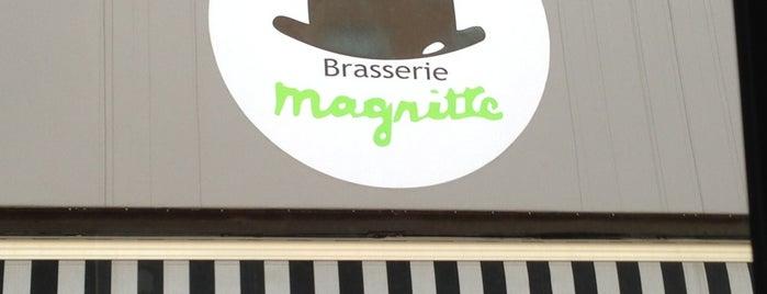 Brasserie Magritte is one of Hoff's hood.
