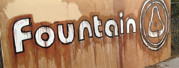 Fountain Art Fair is one of Miami.