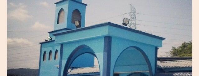 Masjid Besar Bandar Behrang 2020 is one of masjid.