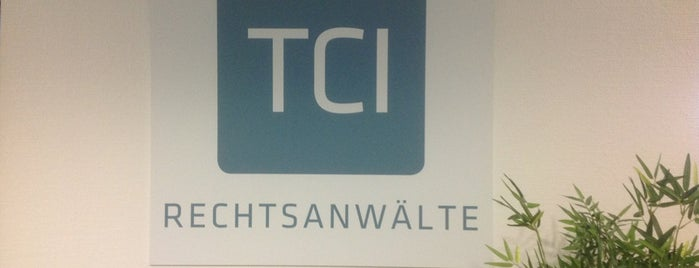 TCI Rechtsanwälte Mainz is one of Cool Business Locations.