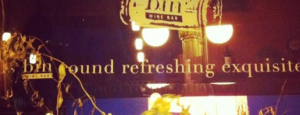 Bin Wine Bar is one of MPLS to-do.