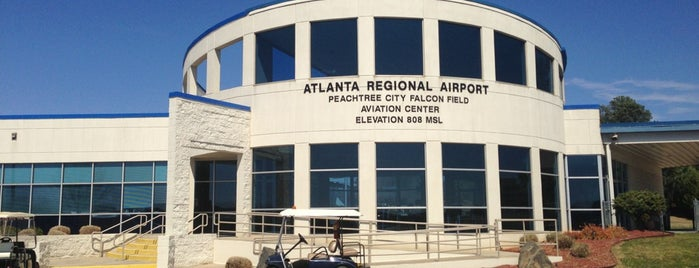 Peachtree Falcon Field Airport KFFC is one of Airports been to.