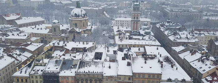 The Tower is one of Lviv.