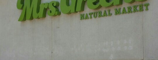 Mrs. Green's Natural Market is one of Mrs. Green's Natural Market.