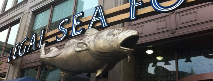 Legal Sea Foods is one of Boston.