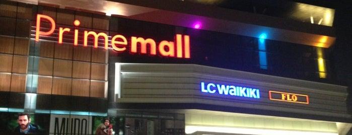 Primemall is one of ALIŞVERİŞ MERKEZLERİ / Shopping Center.