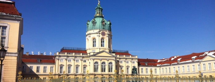 Charlottenburg Palace is one of Berlin.