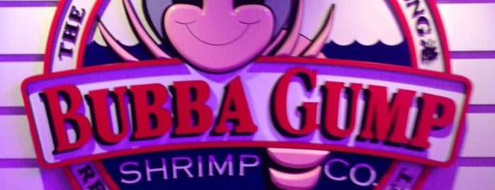 Bubba Gump is one of hkg-홍콩섬.